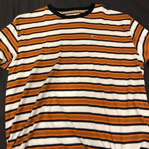 tommy jeans (tommy hilfiger) stripped t-shirt